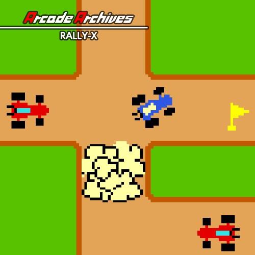 Arcade Archives RALLY-X switch box art