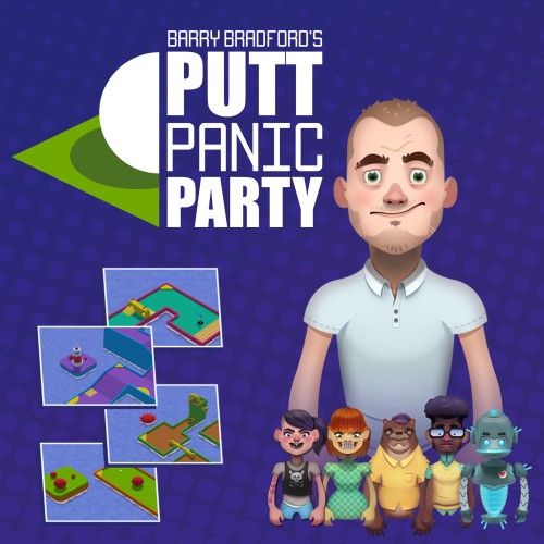 Barry Bradford's Putt Panic Party