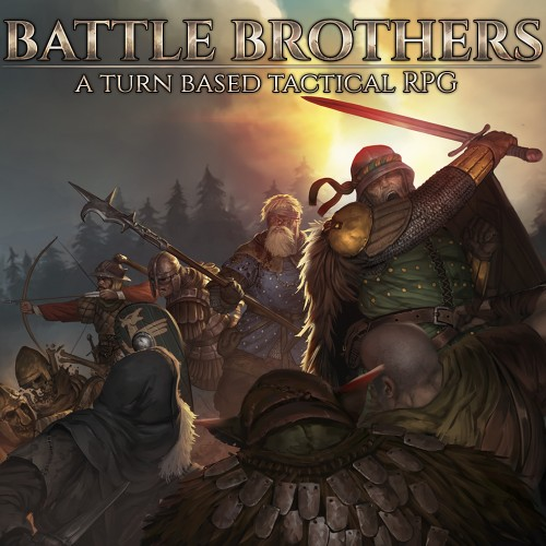 Battle Brothers – A Turn Based Tactical RPG switch box art