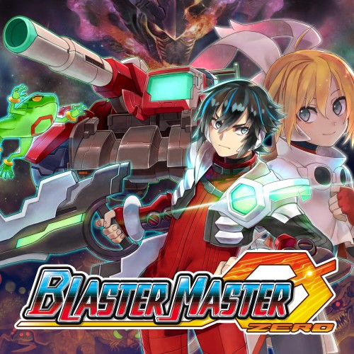 Blaster Master Zero switch box art