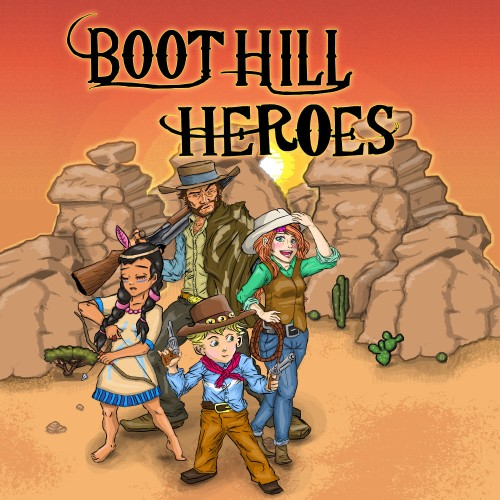 Boot Hill Heroes switch box art