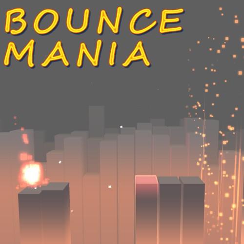 Bounce Mania switch box art
