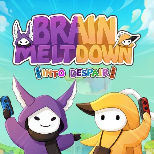 Brain Meltdown - Into Despair switch box art