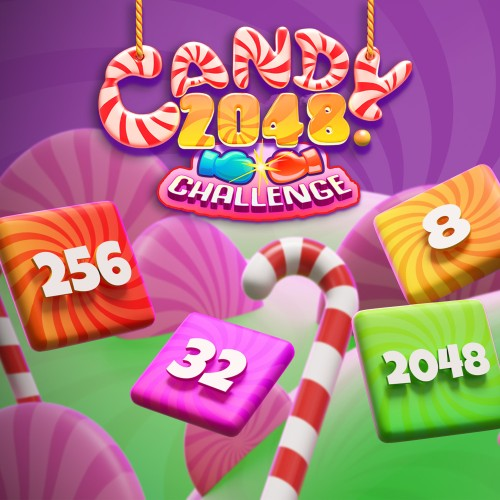 Candy 2048 Challenge switch box art
