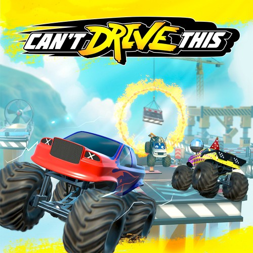 Can't Drive This switch box art