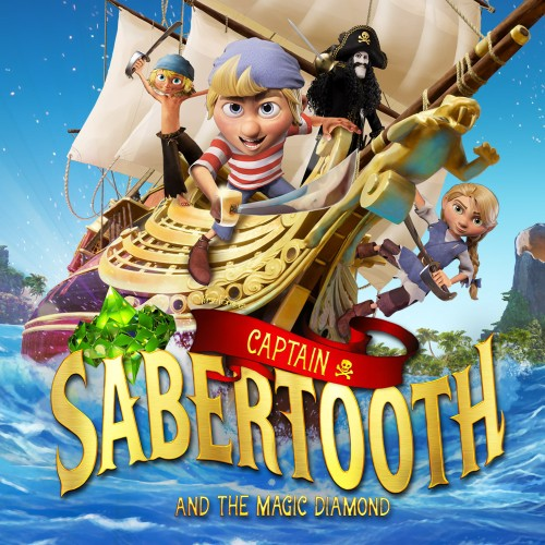 Captain Sabertooth and the Magic Diamond switch box art
