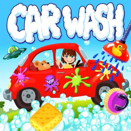 Car Wash – Cars & Trucks Garage Game for Toddlers & Kids switch box art