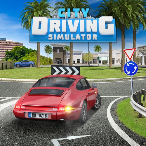 City Driving Simulator switch box art