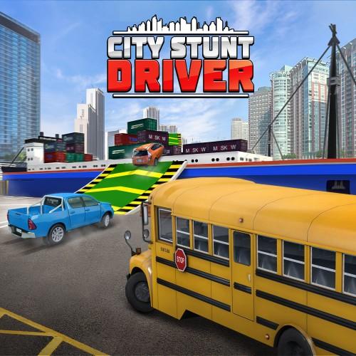 City Stunt Driver switch box art