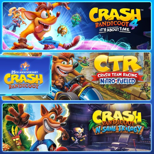 Crash Bandicoot™ - Crashiversary Bundle switch box art