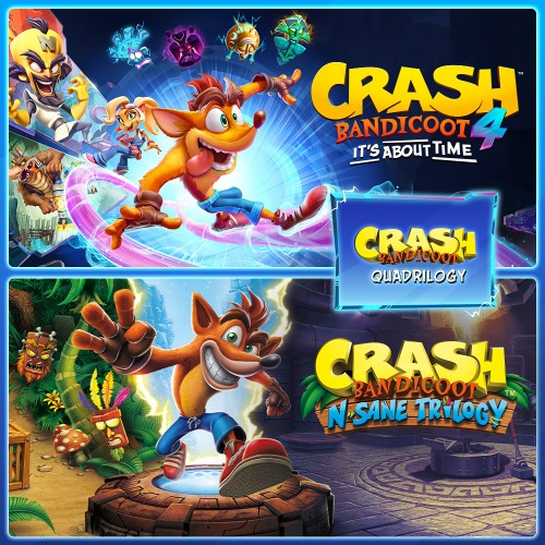 Crash Bandicoot™ - Quadrilogy Bundle switch box art