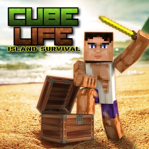 Cube Life: Island Survival switch box art