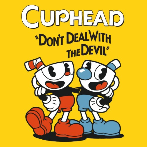 Cuphead switch box art