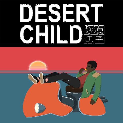 Desert Child switch box art