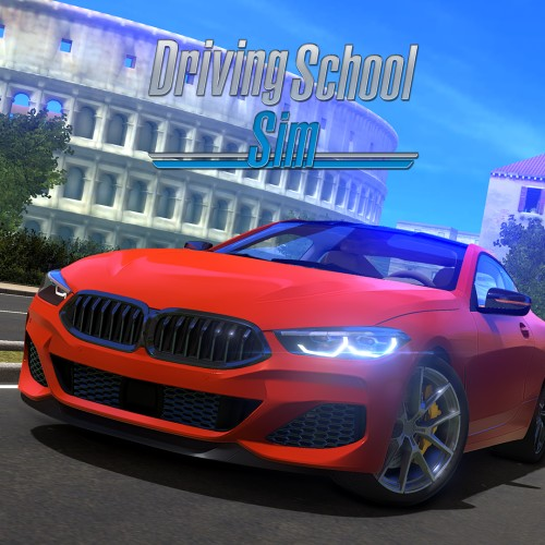 Driving School Sim switch box art