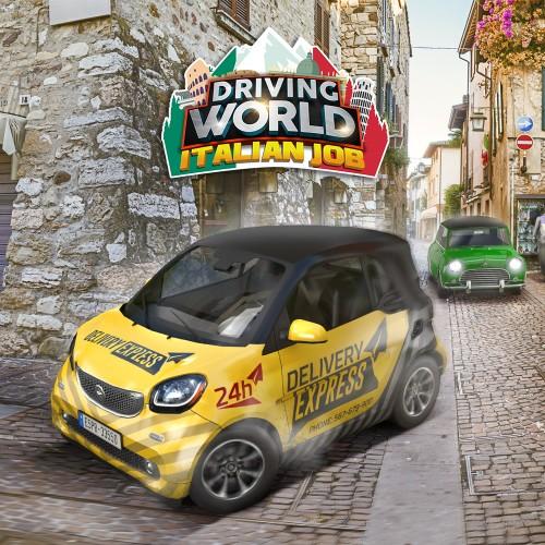 Driving World: Italian Job switch box art