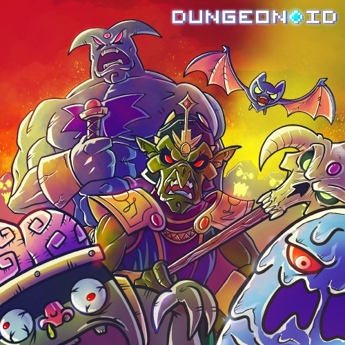 Dungeonoid switch box art