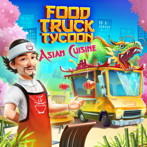 Food Truck Tycoon - Asian Cuisine switch box art