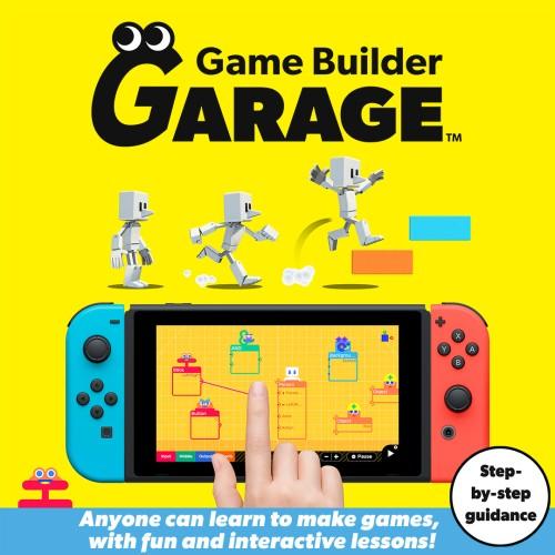 Game Builder Garage switch box art