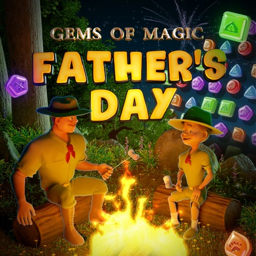 Gems of Magic: Father's Day switch box art