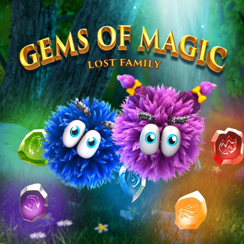 Gems of Magic: Lost Family switch box art
