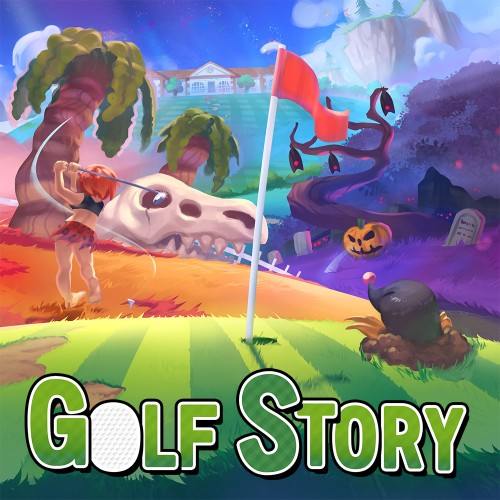 Golf Story switch box art