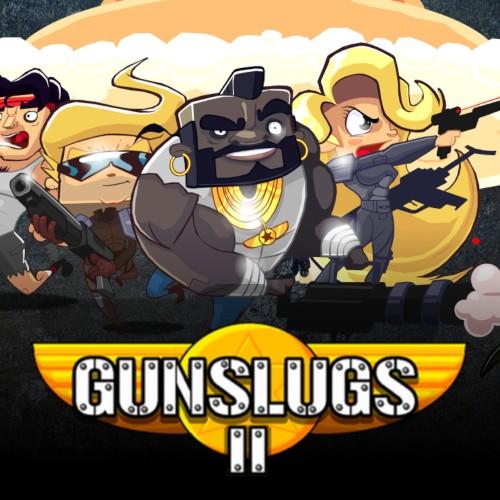 Gunslugs 2 switch box art