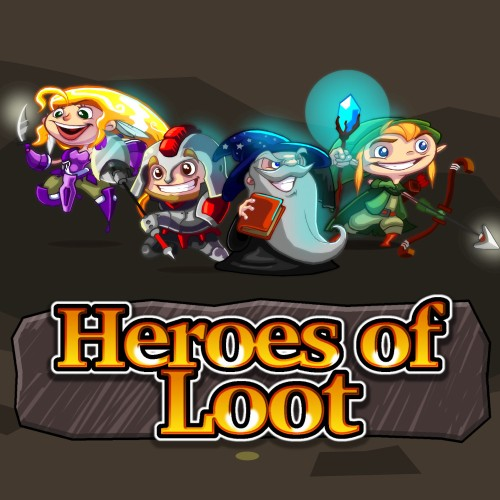Heroes of Loot switch box art
