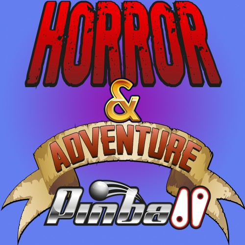 Horror & Adventure Pinball switch box art