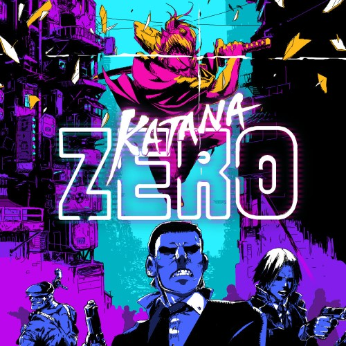 Katana ZERO switch box art