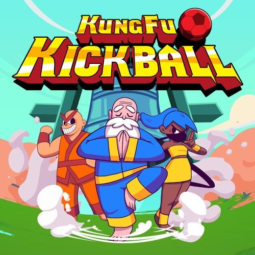 KungFu Kickball  switch box art