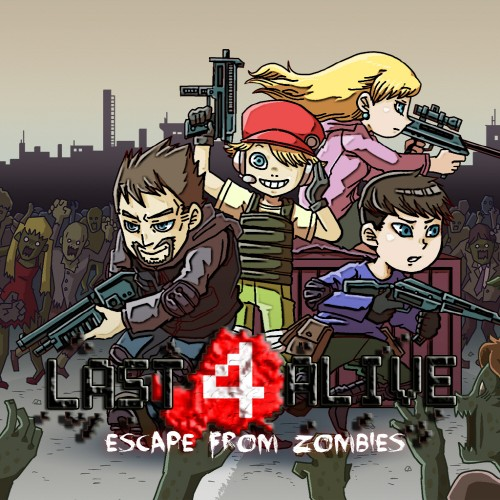 Last 4 Alive: Escape From Zombies switch box art