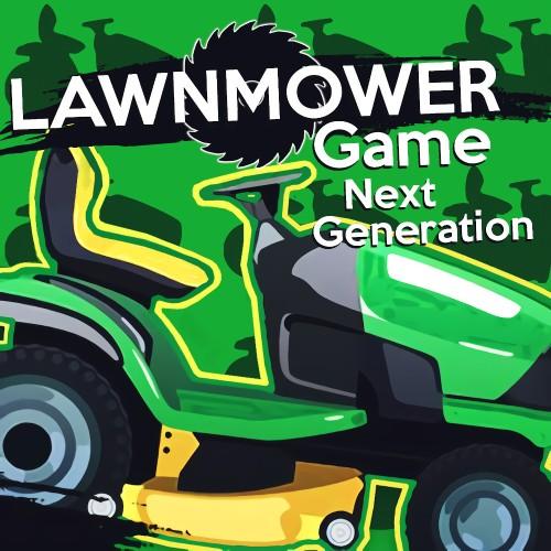 Lawnmower Game: Next Generation switch box art
