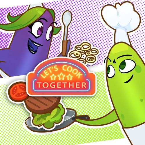 Let's Cook Together switch box art