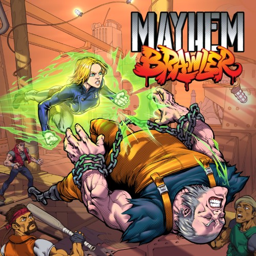 Mayhem Brawler switch box art
