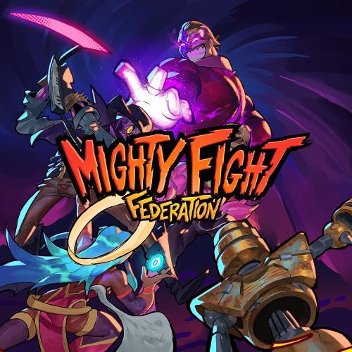 Mighty Fight Federation switch box art