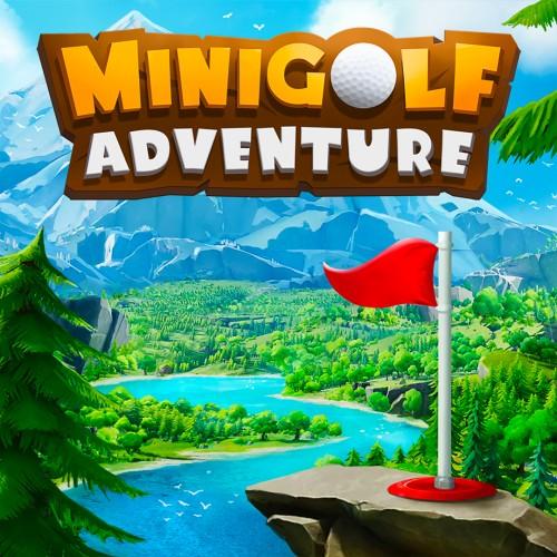 Minigolf Adventure switch box art