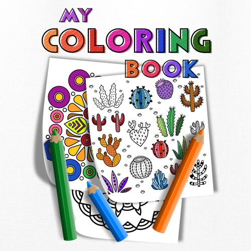 My Coloring Book switch box art