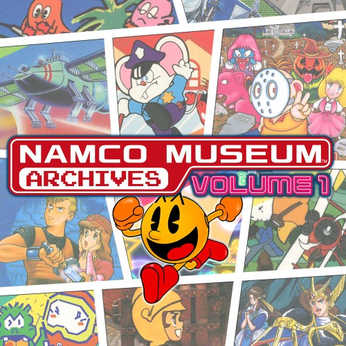 NAMCO MUSEUM ARCHIVES Volume 1 switch box art