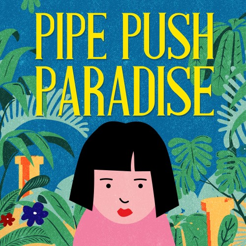 Pipe Push Paradise switch box art