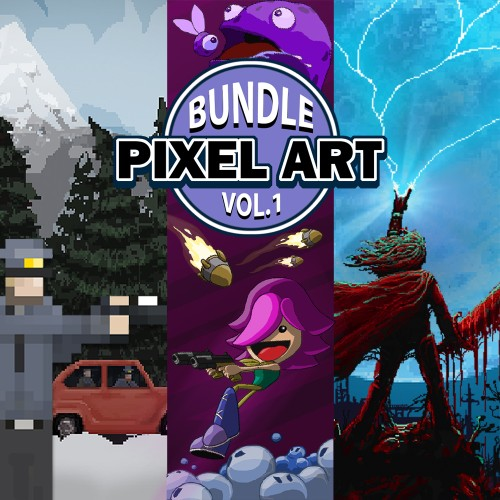 Pixel Art Bundle Vol. 1 switch box art