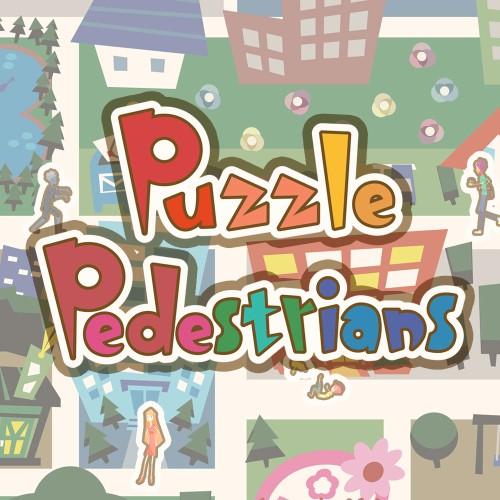 Pixel Game Maker Series Puzzle Pedestrians  switch box art