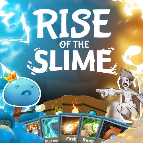 Rise of the Slime switch box art