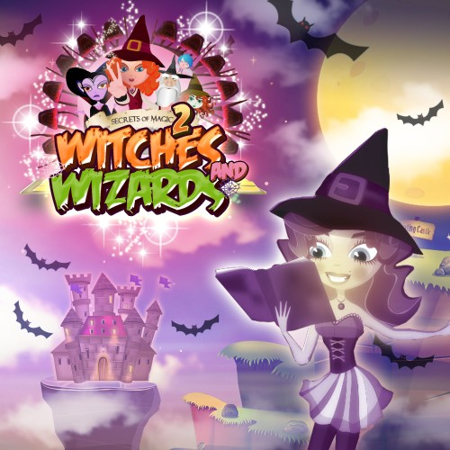 Secrets of Magic 2 - Witches & Wizards switch box art