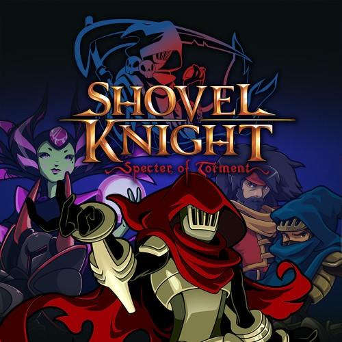 Shovel Knight: Specter of Torment switch box art