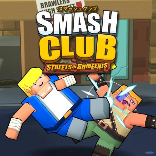Smash Club: Streets of Shmeenis switch box art