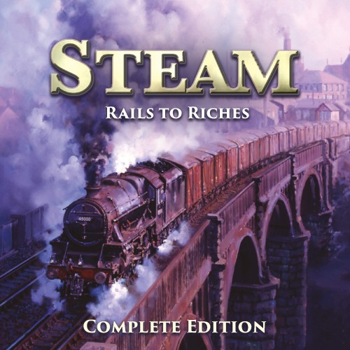 Steam: Rails to Riches Complete Edition switch box art