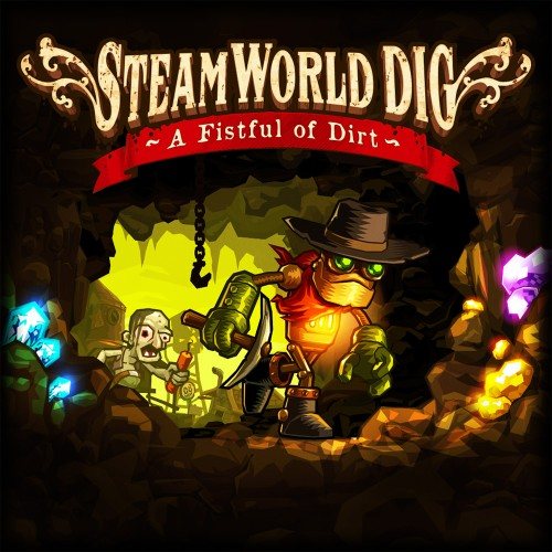 SteamWorld Dig switch box art