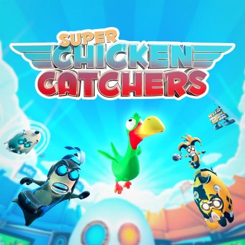 Super Chicken Catchers switch box art