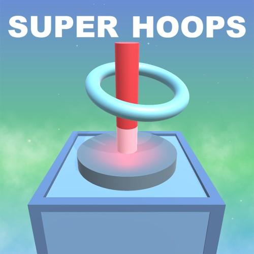 Super Hoops switch box art